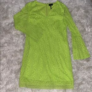 Laundry by Shelli Segal Chartreuse Dress